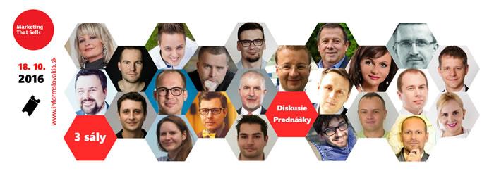 MARKETING, ktorý PREDÁVA už 18. októbra v  Bratislave!